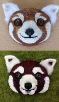 Red Panda WIP (Remastered) by Zielle