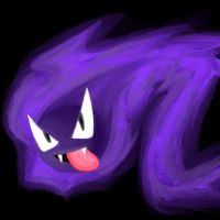 Dat Gastly by CrossedRunner