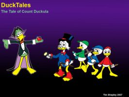 Ducktales Vs Count Duckula by Shapshizzle