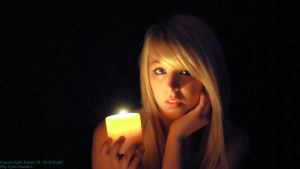 See Me by Candlelight by SkyEyes