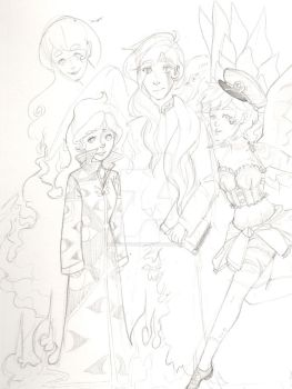 WIP! Family photo~ by MustLoveOme