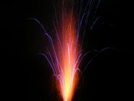 colorfull firework by MiracleElixer
