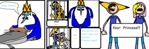 Adventure Time Chloe and Billy Comic page 4 by BillyBCreationz