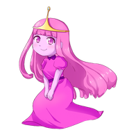 Princess Bubblegum by Gumwad201