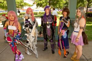 Final Fantasy XIII-2 Group Shot by inokittychan