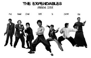 My Expendables (updated) by deanfenechanimations