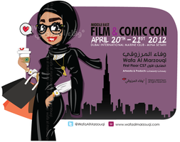 Meet Me at Comic Con by WafaAlMarzouqi