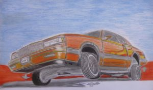 87 Chevy MonteCarlo LoWRiDeRII by theTobs