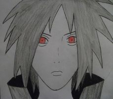 Madara Uchiha by lyrablaze