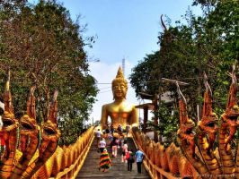 Big Buddha in Pattaya by pingallery
