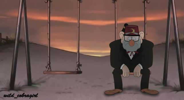 Lonely Grunkle by wild-cobragirl