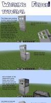 Minecraft Working Fridge: tutorial by amiemo---1