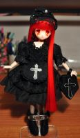 Gothic girl for sale by L63player