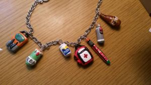 Left 4 Dead Charms by Paigespieces