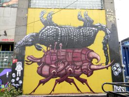 Sego and ROA by GraffMX