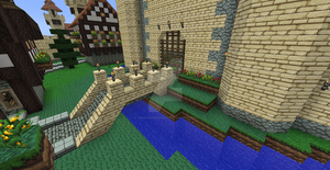 Minecraft Castle Gates by UNDEADWARRIOR7411