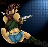 Black Lagoon-Revy by AnimeFanNo1