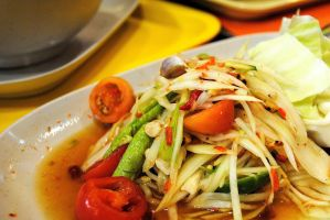 Papaya Salad aka Som Tam by Rappappa