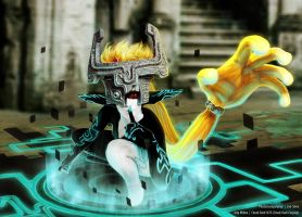 TloZ - Twilight Princess Imp Midna - Cloud-Dark by Evil-Siren