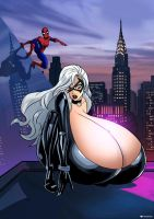 Black cat Heist bust by MrSinister1990