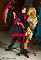 Ruby Rose and Yang Xiao Long 1 by Insane-Pencil