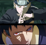 Naruto 611 : Obito And Naruto by VitalikLoL