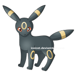 Umbreon by iceicet