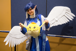 Crunky at Tsukino-Con 2015! by TimmCosplay