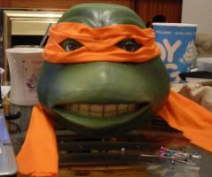 TMNT cosplay head by koala3lw