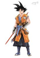 Son Goku by Shnab