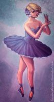 Unhappy Ballerina by laurencskinner