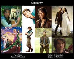 Flynn Rider vs Richard Rahl by LadyRafira