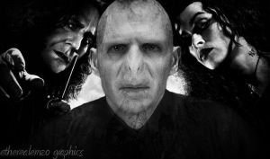 Voldemort and his lieutenants by etherealemzo