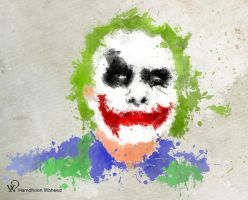 The Joker by Hamdhoon-W