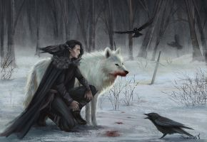 Jon Snow by Sicarius8
