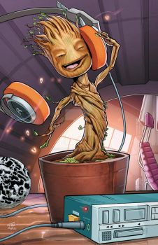 Baby Groot by RossHughes