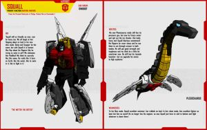 DINOBOT SQUALL by F-for-feasant-design