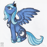 Young Luna by StormBlaze-Pegasus