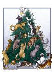 Catmass Tree by QueenGwenevere