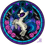 Stained Glass - DJ PON3 by XxLyraTheCatxX
