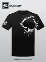 Splatter Suit Tee by Emn1ty