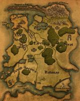 Fantasy Map - King's Riders by NicoleCadet
