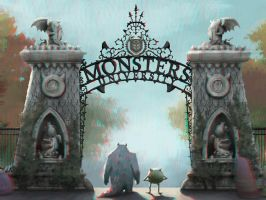Monsters University 3-D conversion by MVRamsey