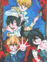 Pandora Hearts by ARii-CHANx3