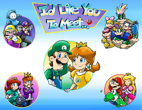 I'd Like You To Meet...Title Page by Nintendrawer