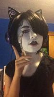 Mettaton Ex Makeup Test by Trickpeta