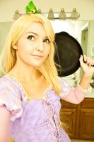 My Rapunzel Cosplay Progress by ReneeRouge