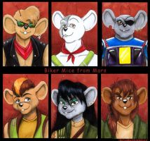 Biker Mice from Mars by Vani-Fox