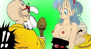 'Unwanted83'Kame and Bulma by Unwanted83