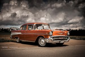 4 Door 57 Bel Air by AmericanMuscle